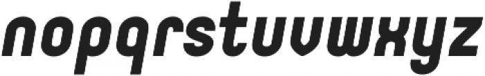 Orev ExtraBold Italic otf (700) Font LOWERCASE