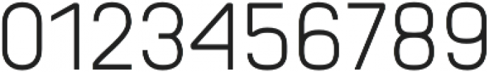 Orev SemiLight otf (300) Font OTHER CHARS