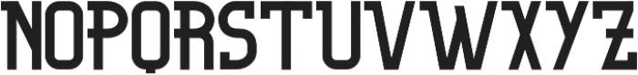 Organic otf (300) Font UPPERCASE