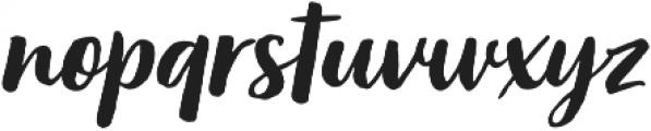 Organika Script Italic otf (400) Font LOWERCASE