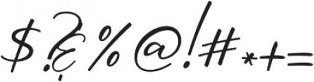 Oriflame Script Alt Regular otf (400) Font OTHER CHARS