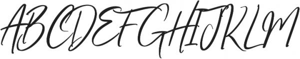 Oriflame Script Alt Regular otf (400) Font UPPERCASE