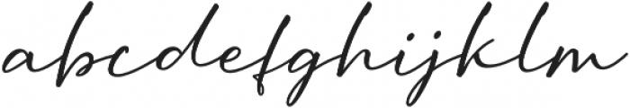 Oriflame Script Alt Regular otf (400) Font LOWERCASE