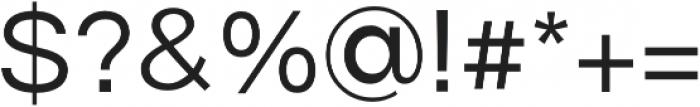 Origin otf (400) Font OTHER CHARS