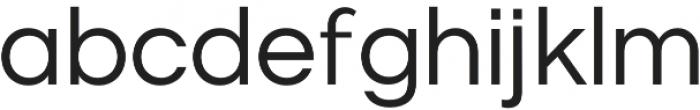Origin otf (400) Font LOWERCASE