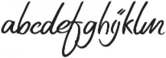 Original Sin otf (400) Font LOWERCASE