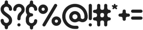 Original otf (400) Font OTHER CHARS