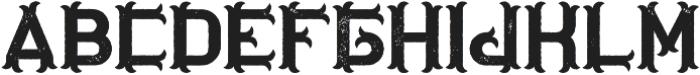 OriginalTequila Aged otf (400) Font UPPERCASE