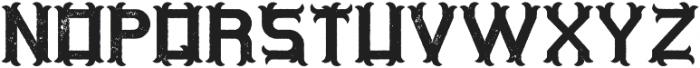 OriginalTequila Aged otf (400) Font LOWERCASE