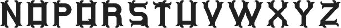 OriginalTequila Regular otf (400) Font UPPERCASE