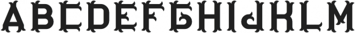 OriginalTequila Regular otf (400) Font LOWERCASE