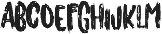 Originals 2 Regular otf (400) Font UPPERCASE