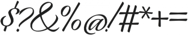 Origins Smooth otf (400) Font OTHER CHARS