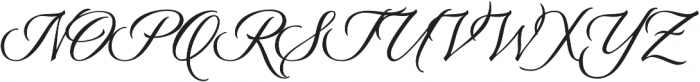 Origins Smooth otf (400) Font UPPERCASE