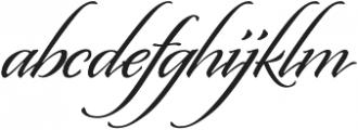 Origins Smooth otf (400) Font LOWERCASE
