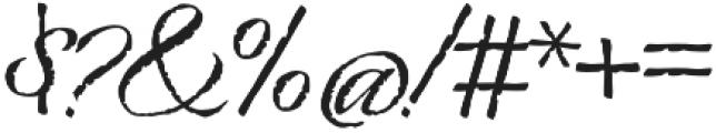 Origins otf (400) Font OTHER CHARS