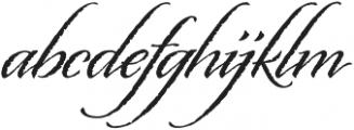 Origins otf (400) Font LOWERCASE