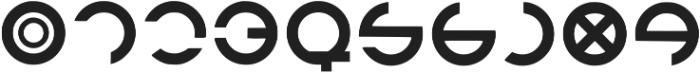 Orion Regular otf (400) Font OTHER CHARS