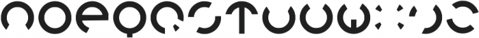 Orion Regular otf (400) Font UPPERCASE