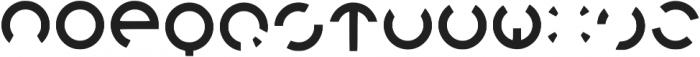 Orion Regular otf (400) Font LOWERCASE