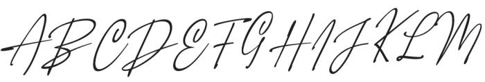 Orleons otf (400) Font UPPERCASE