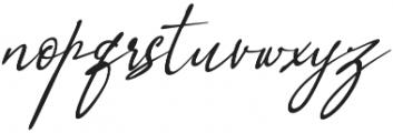 Orleons otf (400) Font LOWERCASE