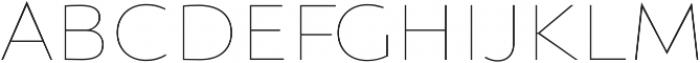 Orqquidea-Sans Thin otf (100) Font LOWERCASE