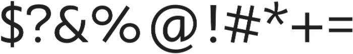 Orqquidea-Sans otf (400) Font OTHER CHARS