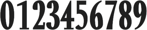 Orrick Black otf (900) Font OTHER CHARS