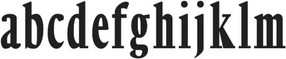 Orrick Black otf (900) Font LOWERCASE