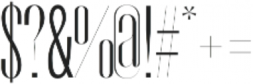 Orson book-italic otf (400) Font OTHER CHARS