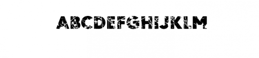 Ordeal-Eroded.ttf Font UPPERCASE