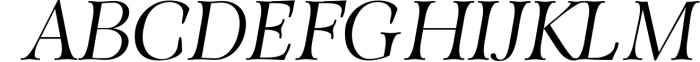 ORSON, An Essential Serif Typeface 1 Font UPPERCASE