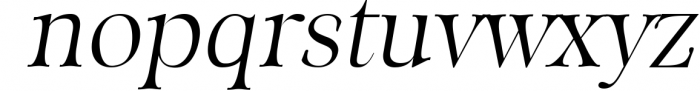 ORSON, An Essential Serif Typeface 1 Font LOWERCASE