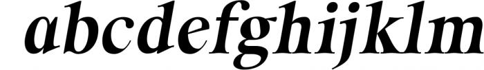 ORSON, An Essential Serif Typeface Font LOWERCASE
