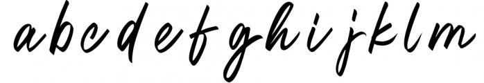 Oregon Script 2 Font LOWERCASE