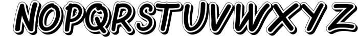Oretans 1 Font UPPERCASE