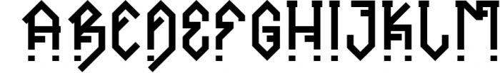 Ornacle - Futuristic Font Font UPPERCASE