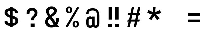 ORAV Font OTHER CHARS