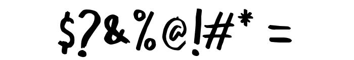 OraRet Font OTHER CHARS