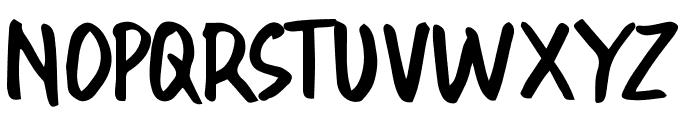 OraRet Font UPPERCASE