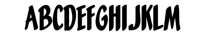 Orange Fizz Font UPPERCASE