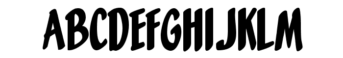 Orange Fizz Font LOWERCASE
