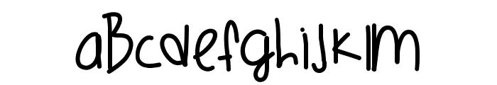 OrangeCounty Font LOWERCASE