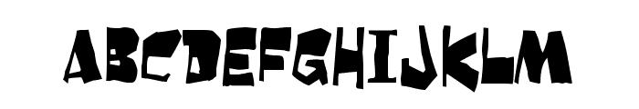Orangutan Font UPPERCASE