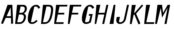 Orator Reformed Font UPPERCASE
