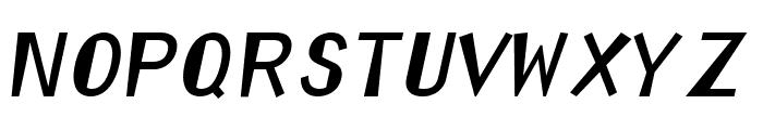 Orator Reformed Font LOWERCASE