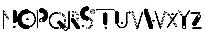 Orbit Regular Font UPPERCASE