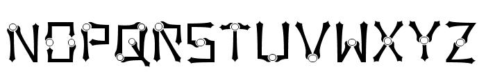 Orbital Sling Font LOWERCASE