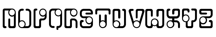 OrbitalFlight-Regular Font UPPERCASE